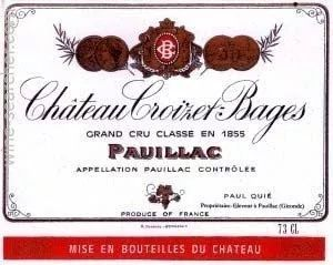 1855列级名庄酒标大全(共61款)